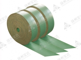 Reinforced polyester lifting belt